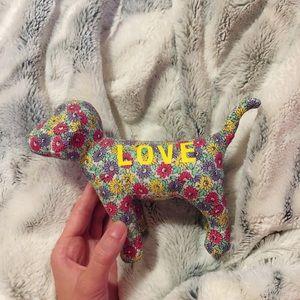 PINK Victoria's Secret decorative dog 🐶💕